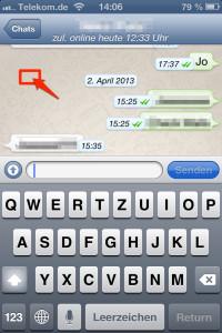 whatsapp-tastatur